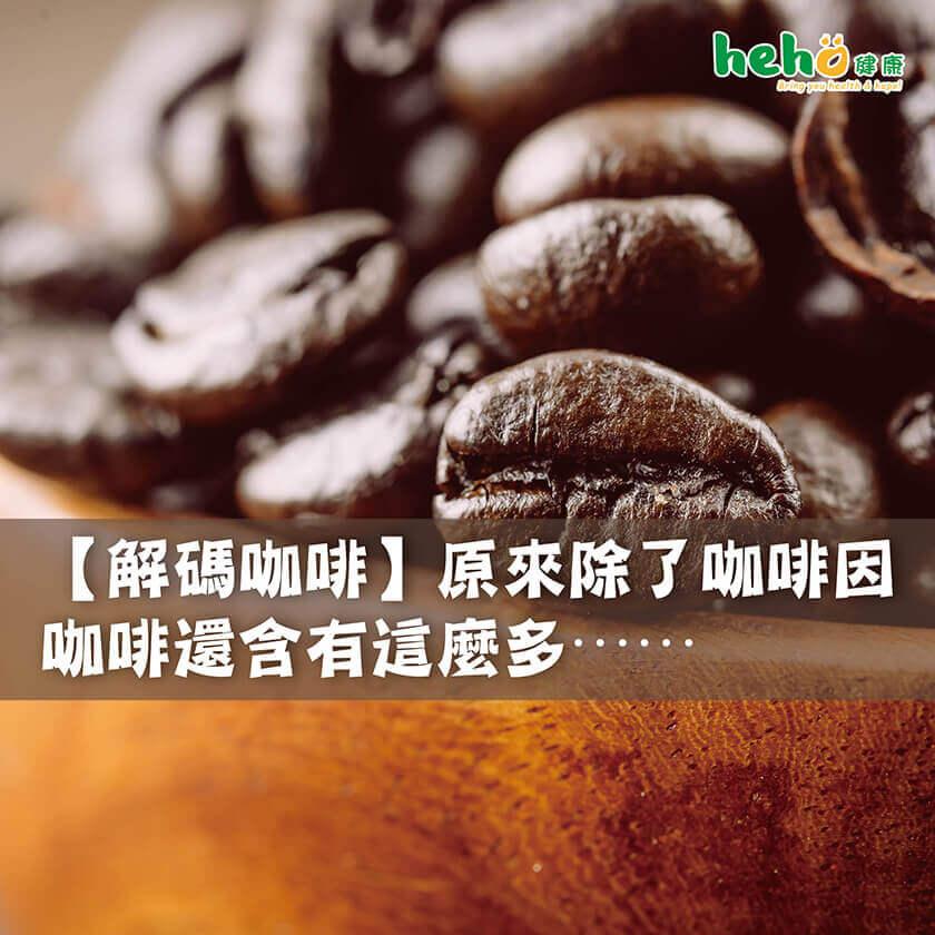 【解碼咖啡】原來除了咖啡因,咖啡還含有這麼多⋯⋯