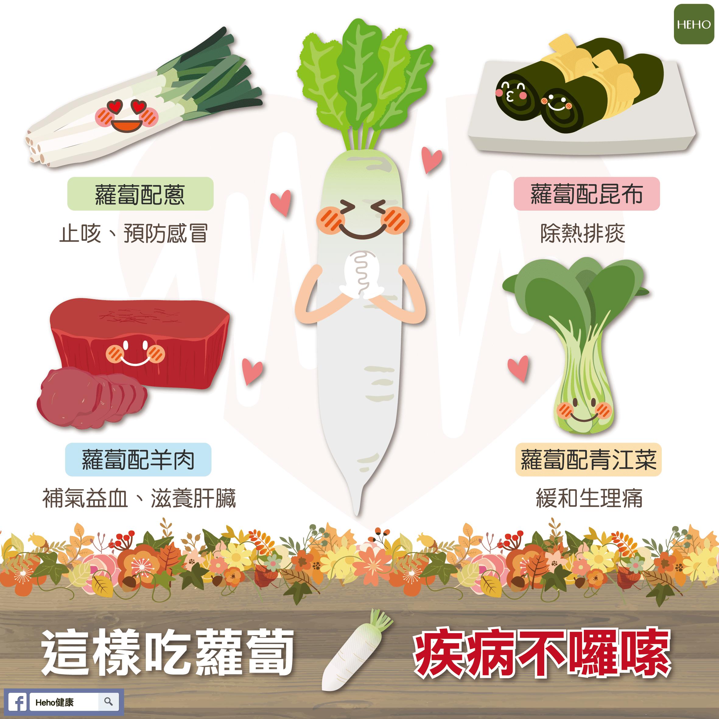 蘿蔔對對碰,健康say哈囉!