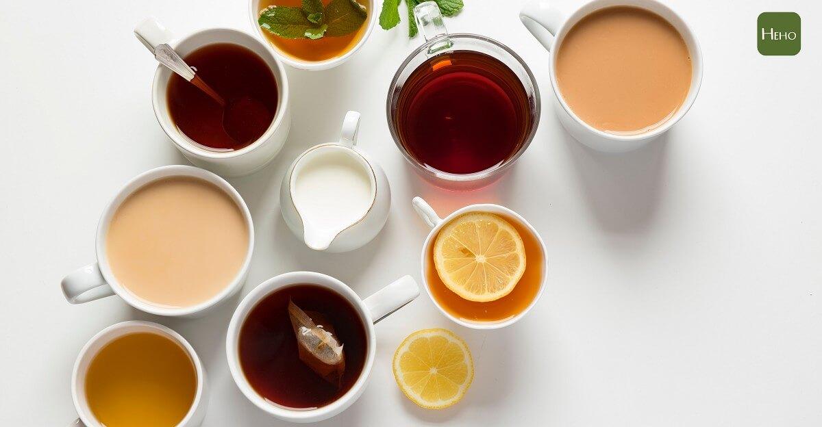 紅茶、綠茶喝哪一種好?6 種茶葉功效大公開