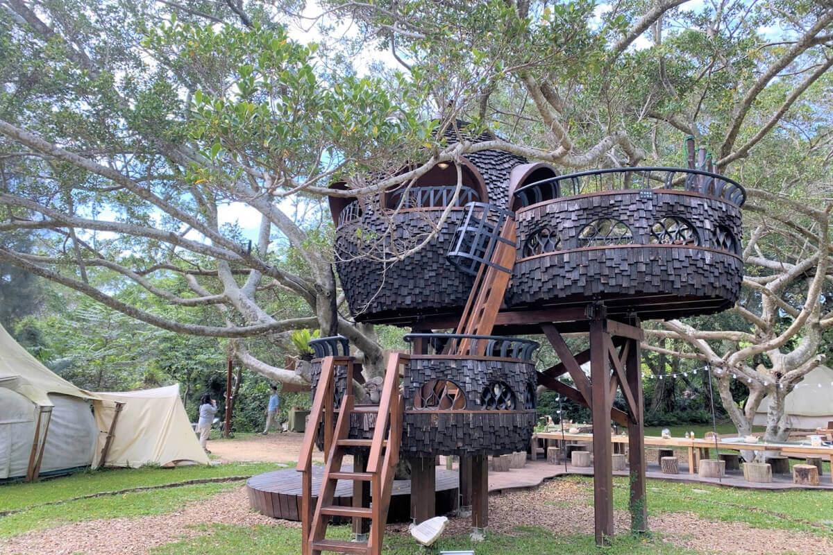 老牌樂園遙身一變最夯露營地!豪華露營不可錯過的選擇