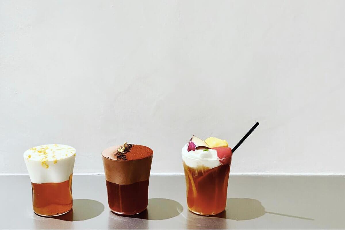 當台灣茶藝結合法式甜點!成為帶有藝術感的時尚茶飲店