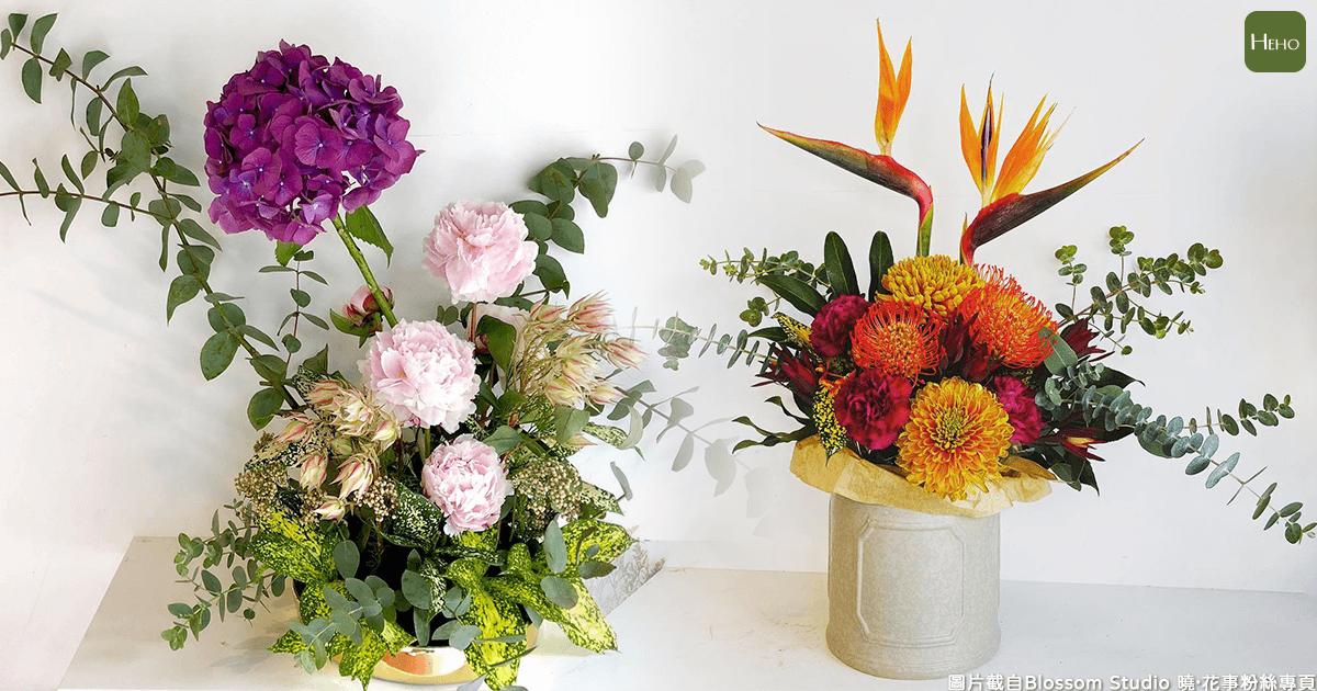 不受拘束的自由之美!學習花藝讓生活變得更美了
