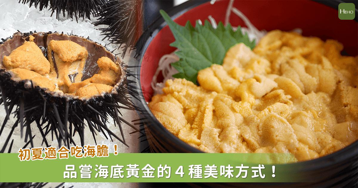 來自海底的黃金食材「海膽」!不同品嚐方式風味也大不同