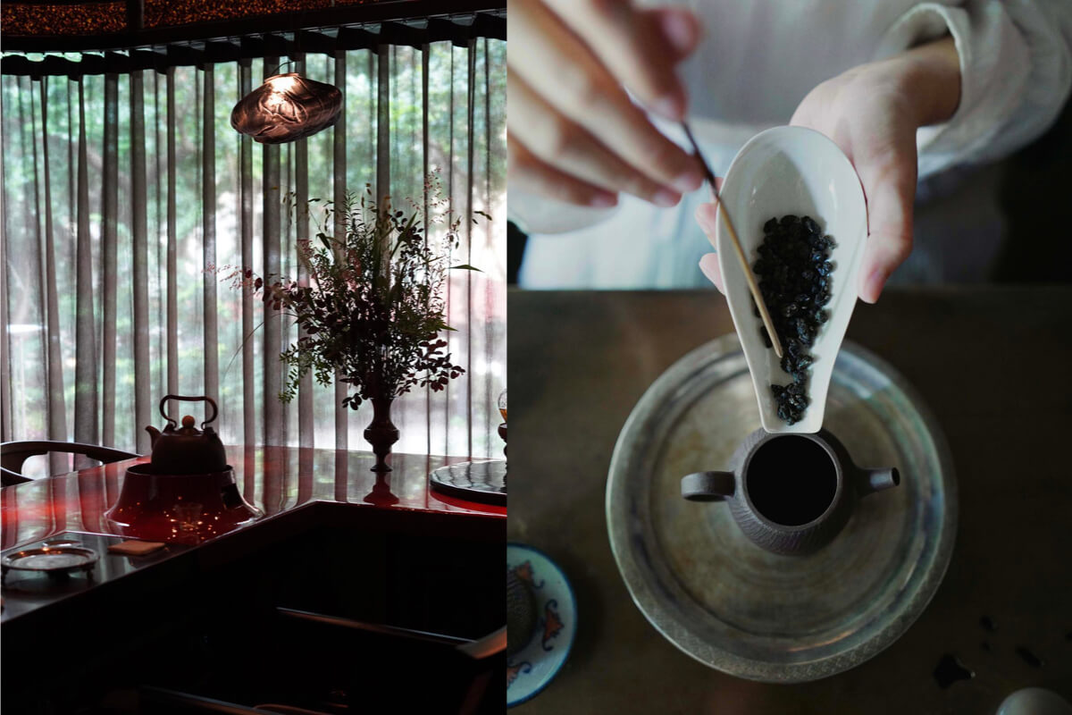 完美融合現代與傳統的風格茶屋!讓喝茶這件事變得很詩情畫意