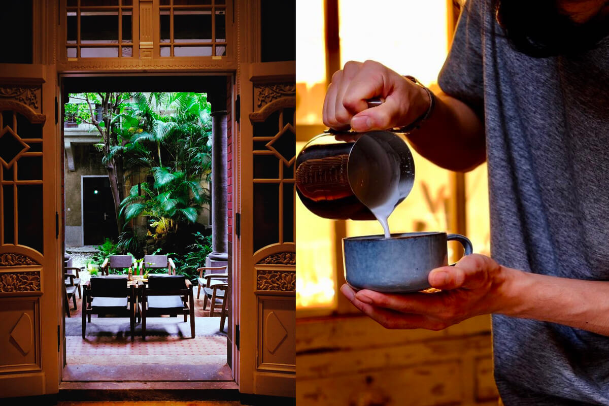 走進舊建築體驗時光穿梭!最愛坐在老宅咖啡廳裡享受慢漫時光